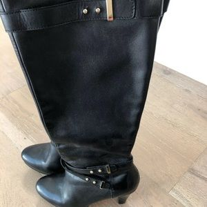 Cole Haan Black Knee High Boots Size 8, NikeAir